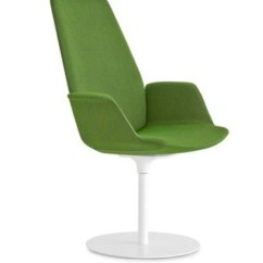 Round Base Chair Oversized Corner Reading Lapalma Uno S244 Armchair With High Back