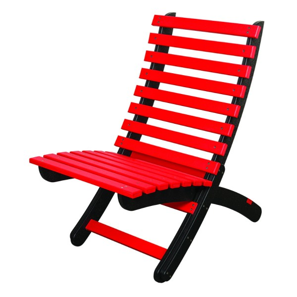 Bright Red Folding Chair MD104