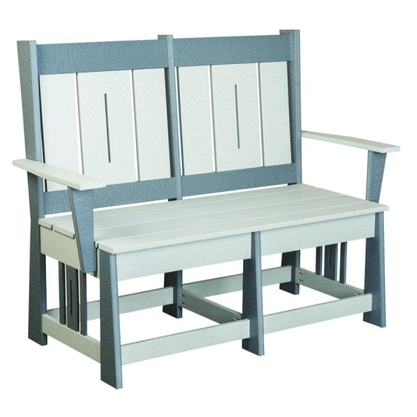Mission with Slats Bench