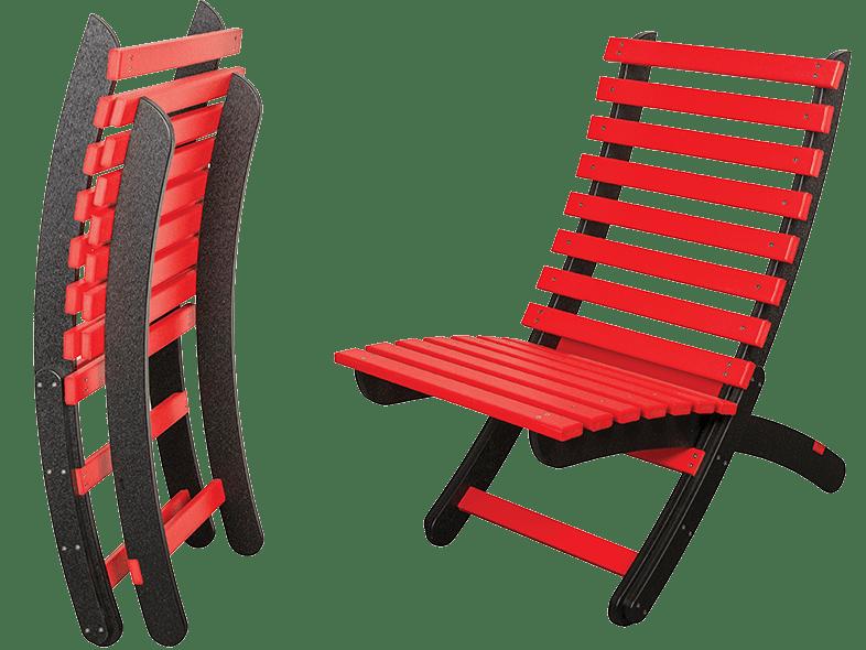 Modern Folding Chair by Modern Designs Poly Furniture