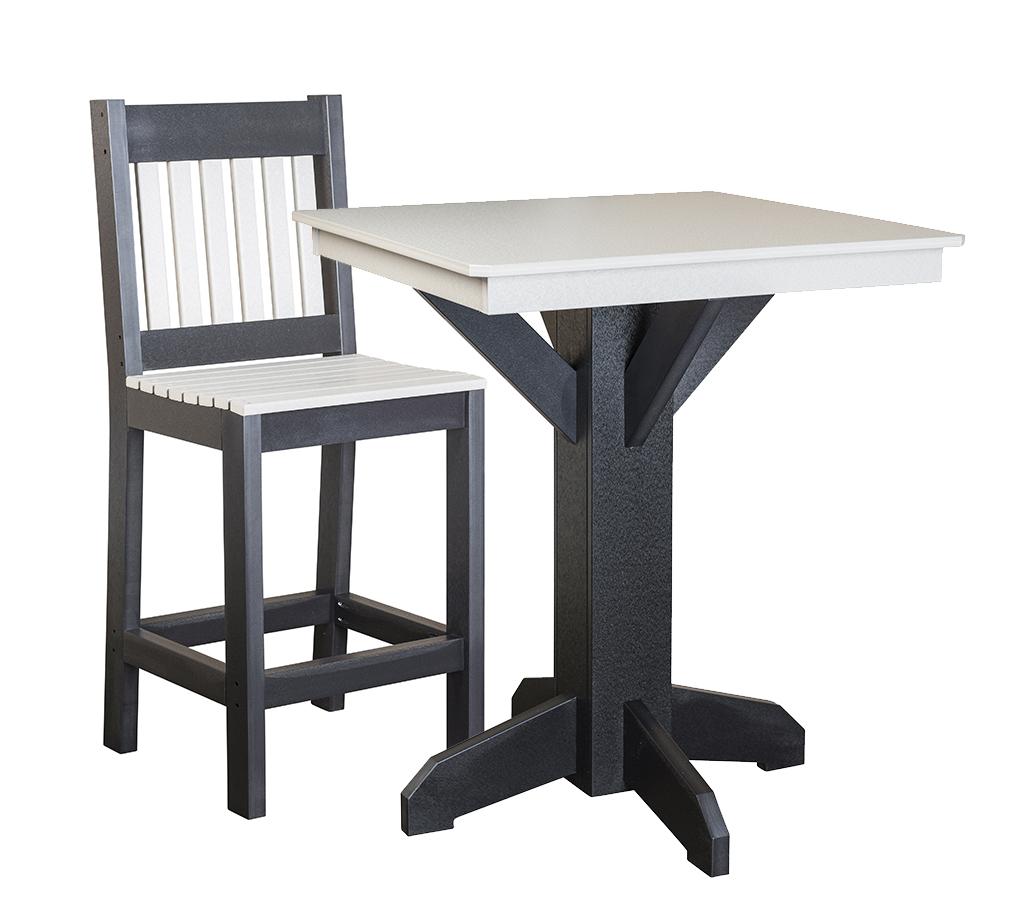 Pub Table with Bar Chair