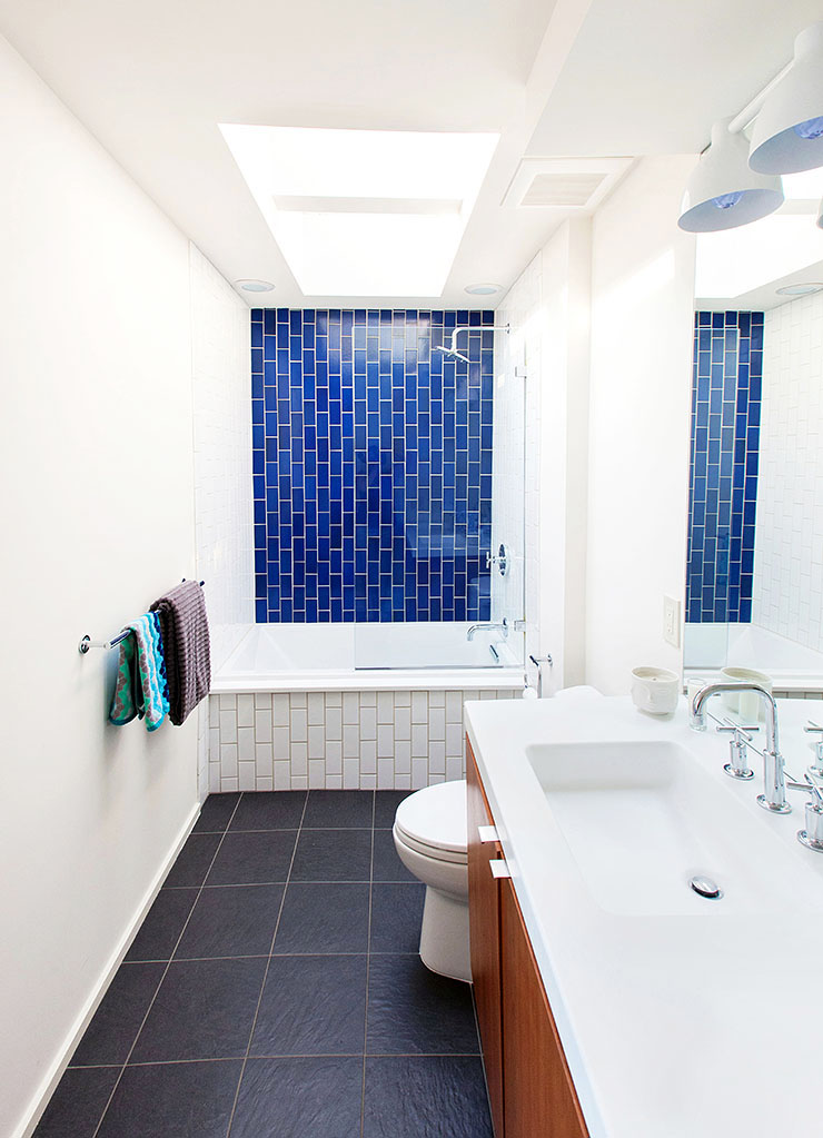 Before  After A Dingy 1970s Bathroom Becomes Bright and