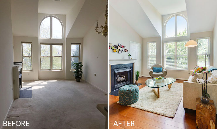 Before And After A Home Stager Reveals Her Secrets