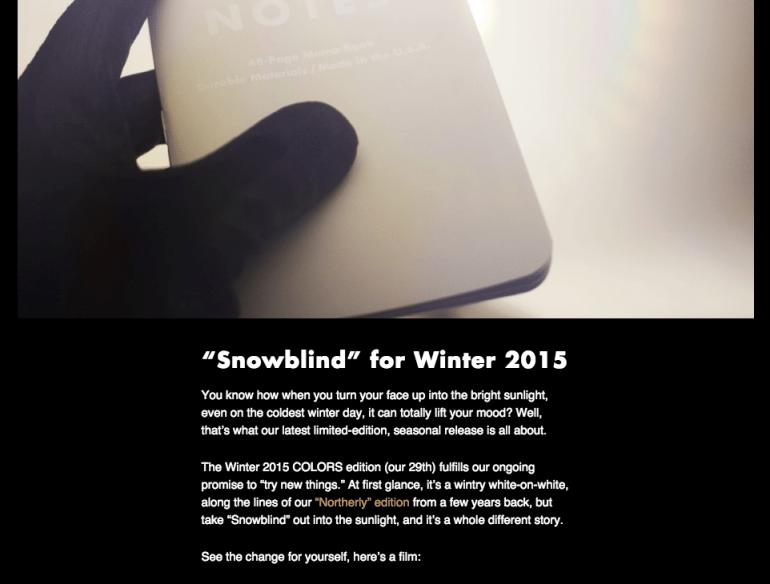 ecommerce snowblind image