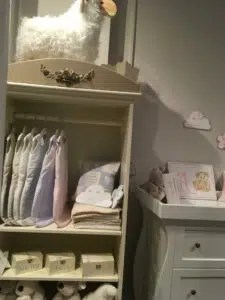 The Baby cot shop custom design