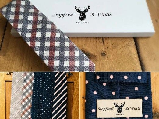 Stopford & Wells luxury ties