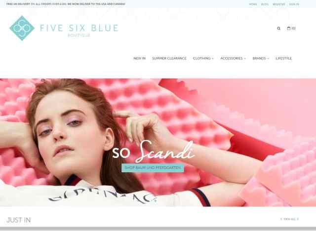 Five Six Blue