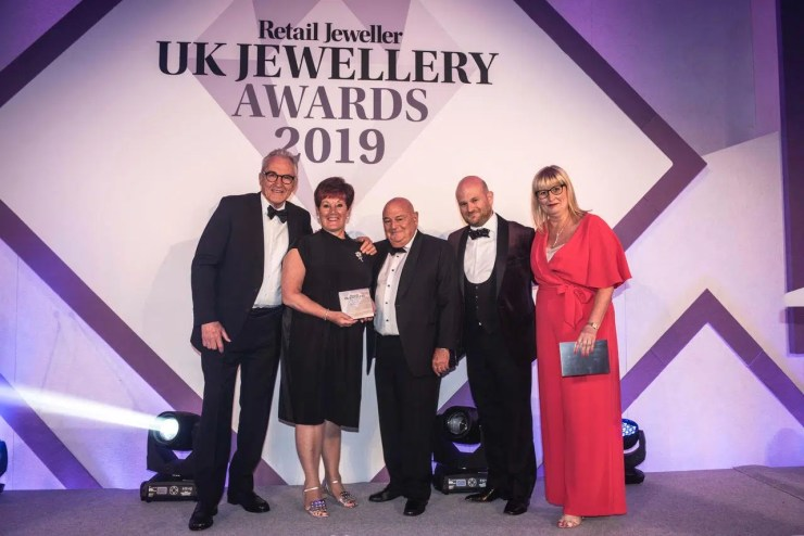 Awards Winners Jacobs the Jewellers