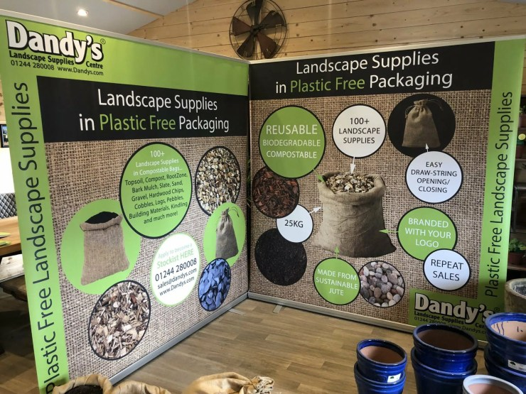 Dandy's Plastic-Free Packaging
