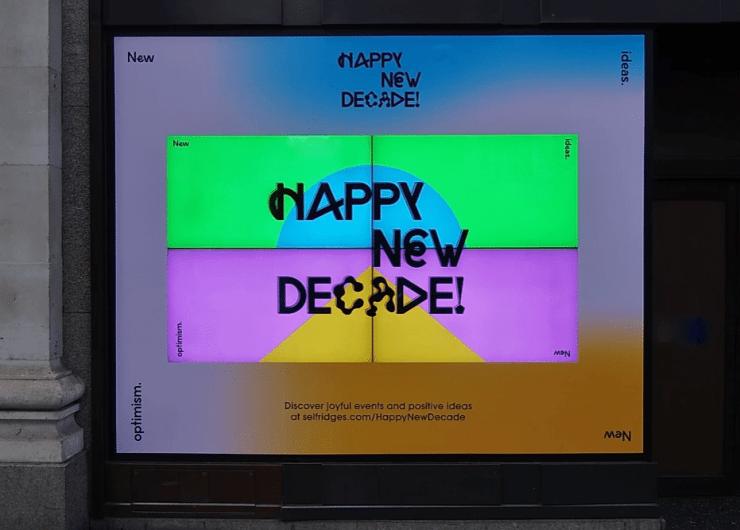 Selfridges: Happy New Decade
