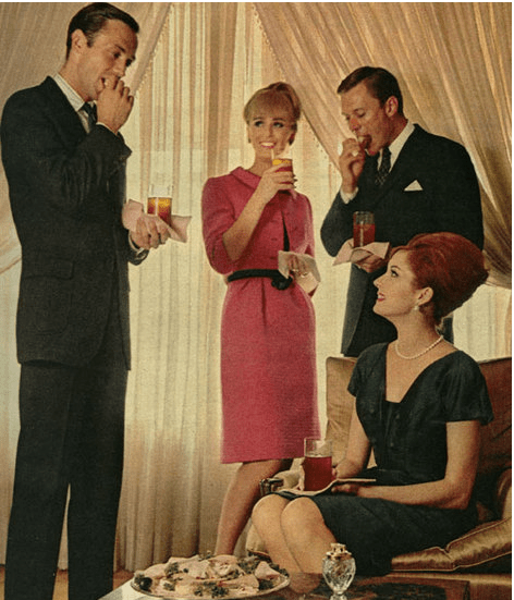 Successful Entertaining Cocktail Parties  The Solution