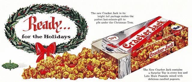 Cracker Jack advertisement