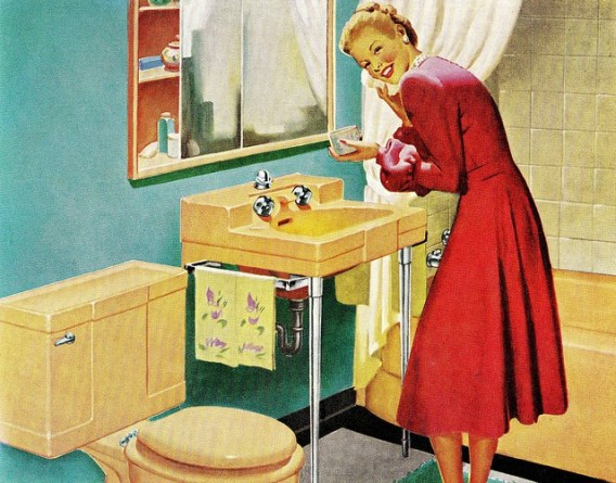 """The American Home,"" September 1948; Image courtesy of Salty Cotton on Flickr.com http://www.flickr.com/photos/28153783@N08/5474689182/"