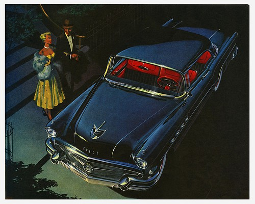 Buick advertisement, 1956; Image courtesy of Paul Malon on Flickr.com