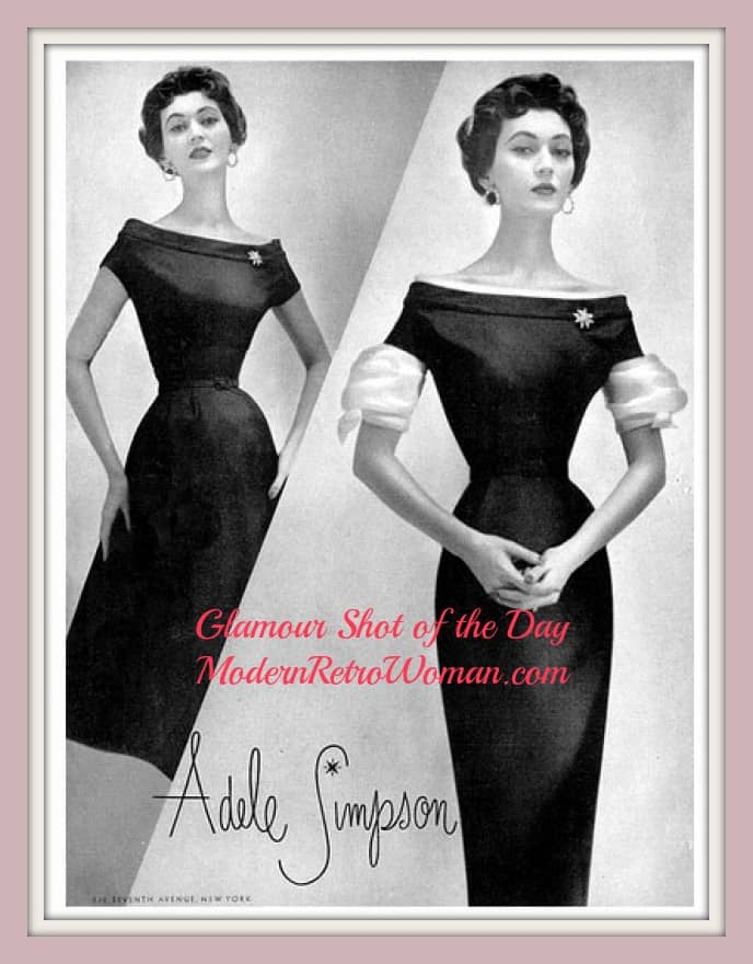 Adele Simpson advertisement; Source image courtesy of Dovima_is_Divine_II on Flickr.com