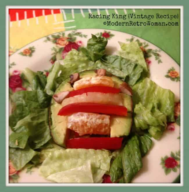 Racing King Salad Vintage Recipe