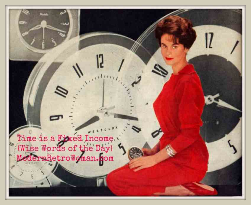 """Up to the minute people rely on Westclox;"" English Woman Magazine, March 26, 1960; Source image courtesy of Letslookupandsmile on Flickr.com"