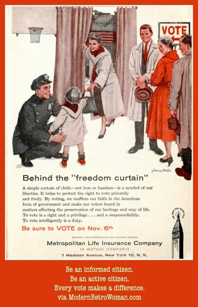 Behind the Freedom Curtain Vote ModernRetroWomancom