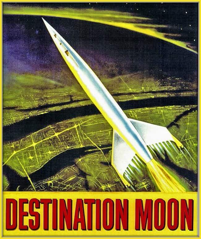 Destination Moon poster ModernRetroWomancom