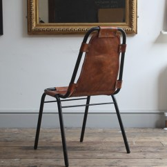 Leather Sling Chairs Hard Floor Chair Mat Staples Charlotte Perriand Les Arcs | Modern Room - 20th Century Design