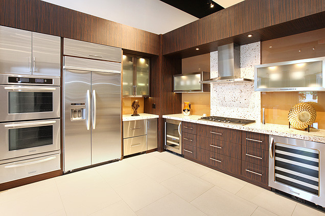 Contemporary and modern kitchens what is the difference  Modern RTA Cabinets
