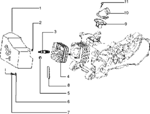 Lml Scooter Engine Geely Scooter Engine wiring diagram