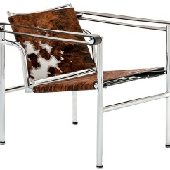 Sling Chaise Lounge Chair How To Buy A Lift Lc1 Natural Cowhide | Le Corbusier Basculant Armchair - Free Shipping