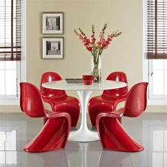 S Dining Chair Coleman Comfortsmart Panton In Glossy Finish 8 Colors Modernselections