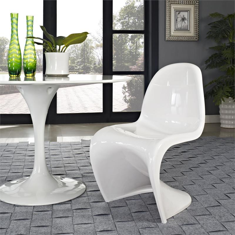 al s chairs and tables white spandex chair covers bulk panton in glossy finish 8 colors modernselections