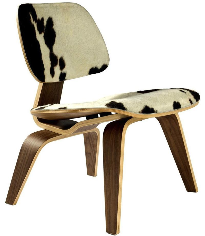 eames molded wood side chair cheap papasan pony plywood lounge - modernselections.com