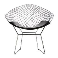 Desk Chair Pad Aluminum Bar Chairs Bertoia Wire Diamond - For Home Or Office Free Shipping