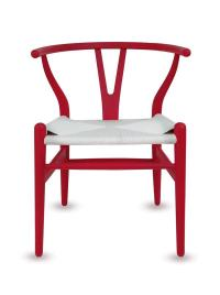 Wishbone Dining Chair - Red, Black, White, Natural, Brown ...