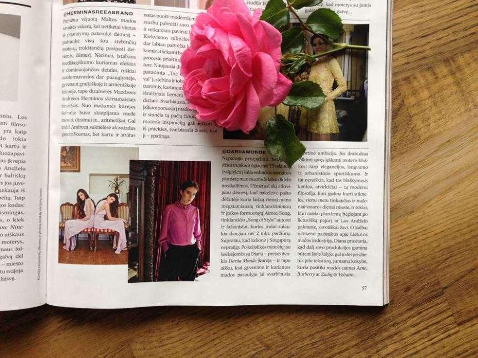 Dariia Monde in L'officiel Poland