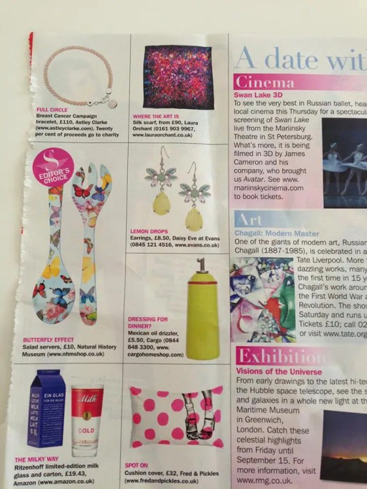 laura Orchant in Sundays Express
