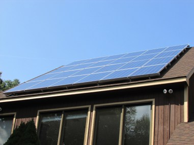Roof Mount Solar Installation