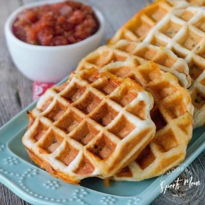 Quick + Easy Taco Waffle Pockets