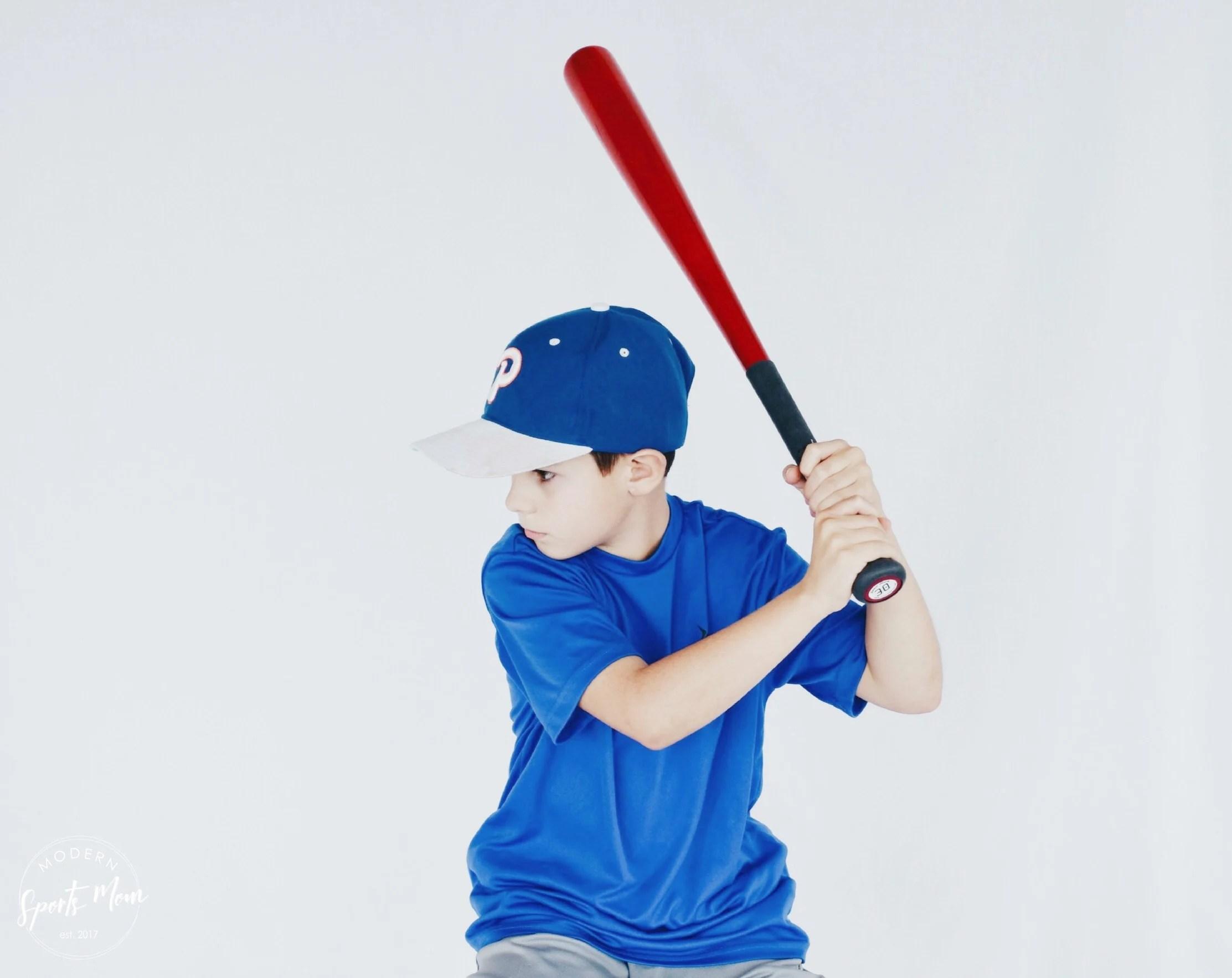 Youth baseball player using Sniper Skin bat grip!