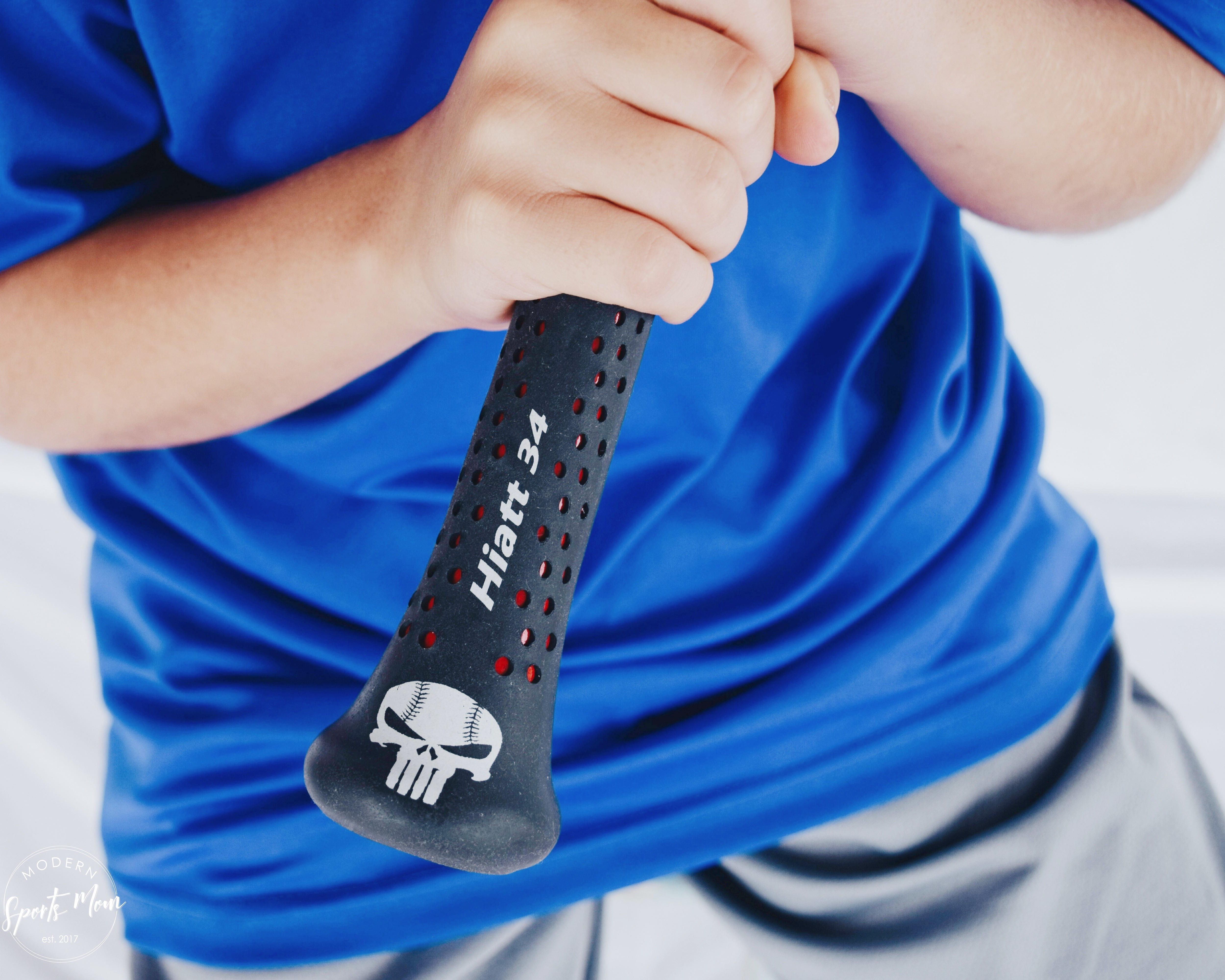Personalized bat grip by Sniper Skin!