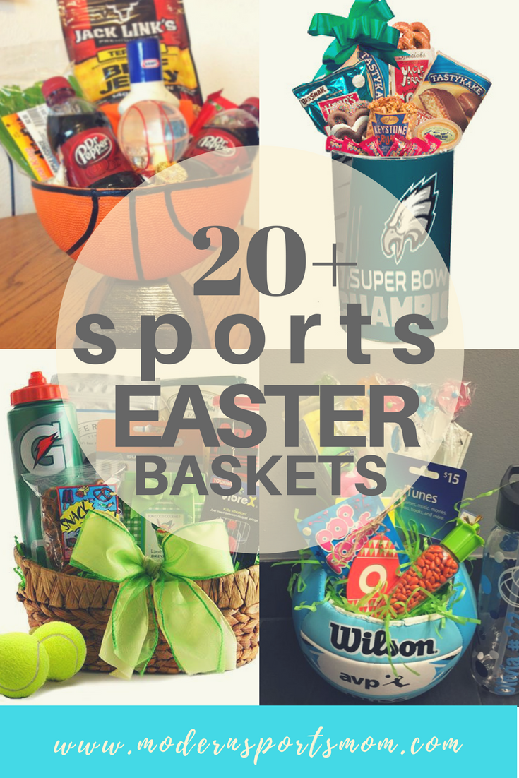 Fun Sports Easter Basket Ideas for boys and girls!