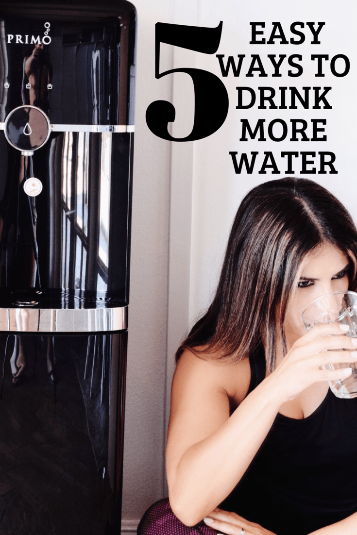 Water is incredibly important for so many reasons. More energy, as a weight loss aid, for glowing skin, and much more. In this busy sports mom world, it can be challenging to find ways to drink more water. This guide for 5 Easy Ways To Drink More Water can help!