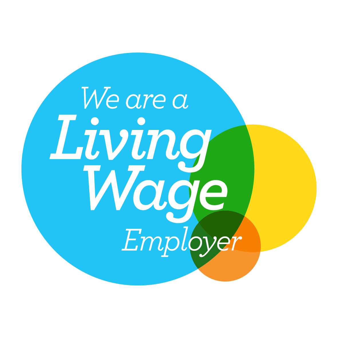 Living wage - Graphic design