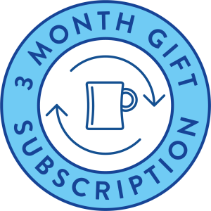 3 month gift subscription modern standard coffee