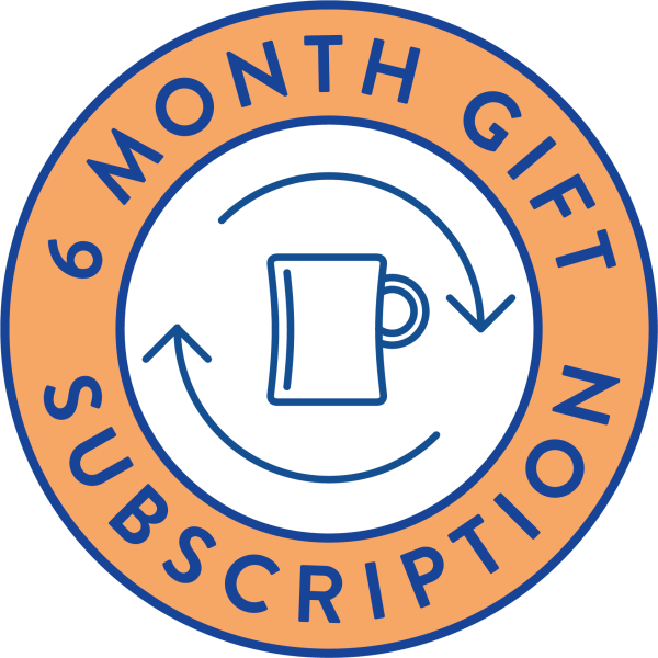 6 month gift subscription modern standard coffee