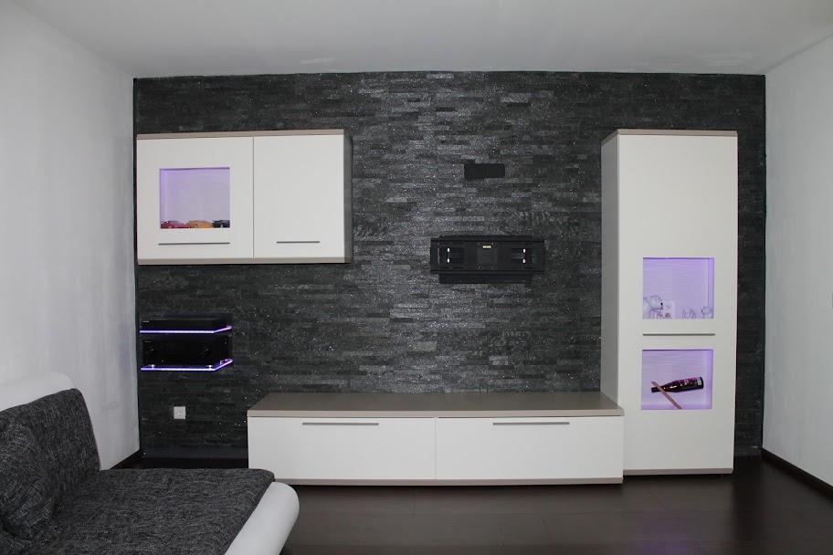 naturstein verblender wohnzimmer | moregs - Verblender Wohnzimmer