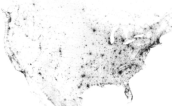 population-density-dot-map