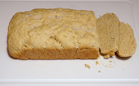 Baked Bread Without Yeast