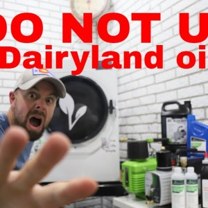 BEST OIL FOR THE HARVESTRIGHT FREEZE DRYER?-- DO NOT USE DAIRYLAND!!!