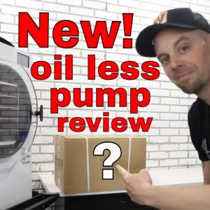 Harvestright Oil Less Pump Review -- Unboxing, First Impressions, Pros / Cons