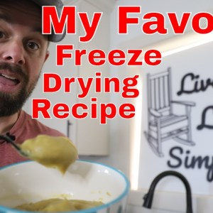 MY FAVORITE FREEZE DRYING RECIPE!! Freeze Dried Split Pea Soup
