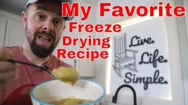 MY FAVORITE FREEZE DRYING RECIPE!! Freeze Dried Split Pea Soup